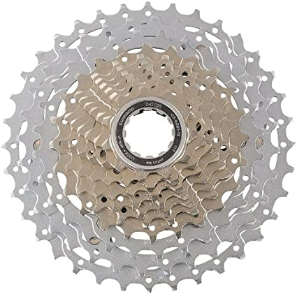 Amazon Com Shimano Cs Hg81 Slx Bicycle Cassette 10 Speed 11 36t Silver Bike Cassettes And Freewheels Sports Outdoors