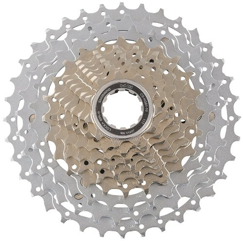 SHIMANO CS-HG81 SLX Bicycle Cassette (10-Speed, 11/36T, Silver) ()