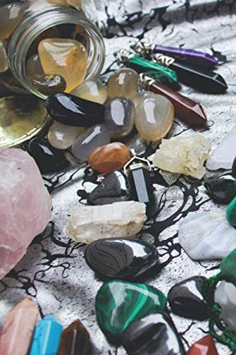 Crystals & Gemstones Bohemian Wine Journal