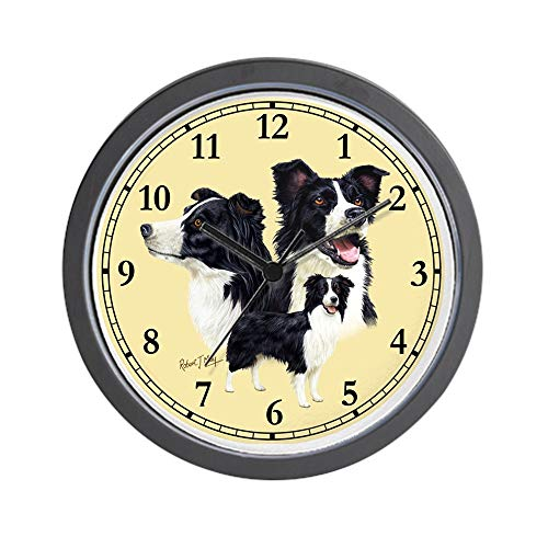 CafePress Border Collie Clock Unique Decorative 10