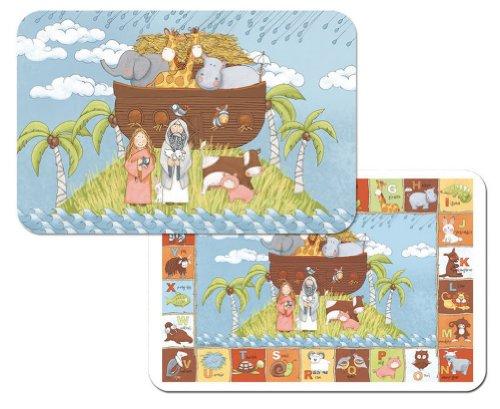 Kids Noahs Reversible Vinyl Placemats