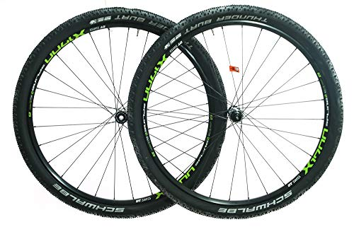 (DT Swiss X1700 29er Bike Wheelset Tires 12x142 15x100 Thru Axle SRAM XD 11s New)