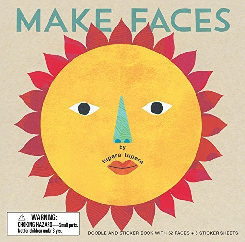 By Tupera Tupera - Make Faces: Doodle and Sticker Book with 52 Faces + 6 Sticker She (Act Spi) (2015-04-08) [Hardcover] PDF