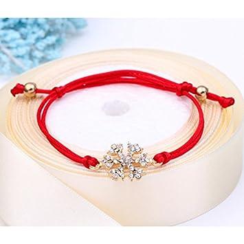 DaoRier 1pc Merry Christmas Pulsera Feliz Navidad Man Pulseras Anillo Collar Pulseras Ni/ñas Pulseras Mujer
