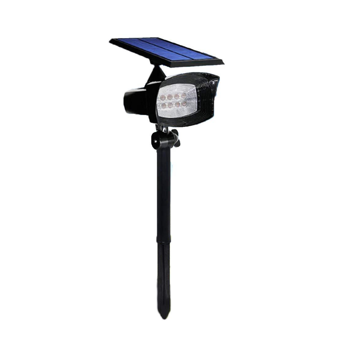 offrendo il 100% YWUAEN LED Luce Solare, Regolabile Impermeabile Impermeabile Impermeabile Solare Outdoor Paesaggio riflettore LED, Automatico on off Giardino, Cortile, Prato, Parete Esterna e Canale  una marca di lusso