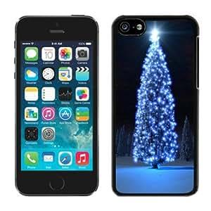 Fantastic Iphone 5C TPU Case Christmas Tree Black iPhone 5C Case 25