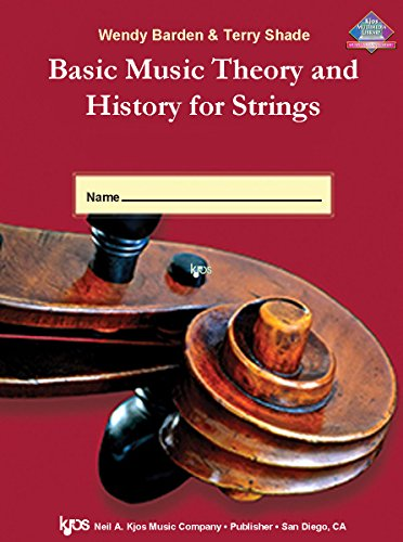 - L65VN - Basic Music Theory and History for Strings - Workbook 1 - Violin