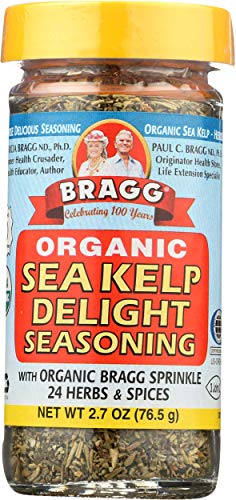 Bragg Organic Sea Kelp Delight Seasoning with Organic Bragg Sprinkle, 24 Herbs & Spices 2.7 Ounce