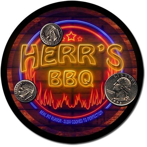 Herr Barbeque Drink Coasters - 4 Pack