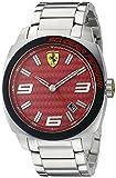 Image of Ferrari Men's 0830167 Aero Evo Analog Display Quartz Silver Watch