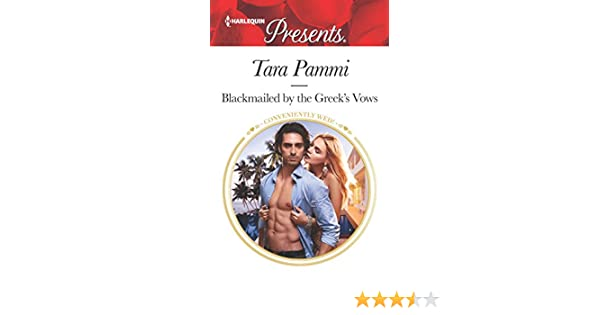 Blackmailed by the Greek's Vows: A Marriage of Convenience Romance  (Conveniently Wed! Book 3629)