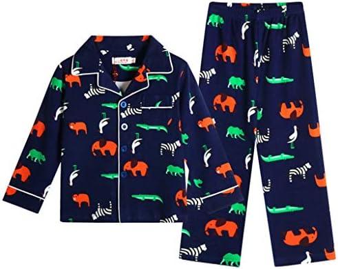 Pijamas para niños Ropa de algodón para niños Pijamas para niños ...