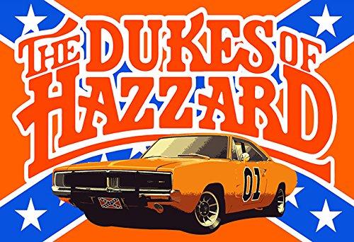 (Dukes of Hazzard Wall Art 001 Collectors 13x19)