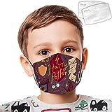 389 Harry Po-tter 2 Kid Dust Face Cover Adjustable