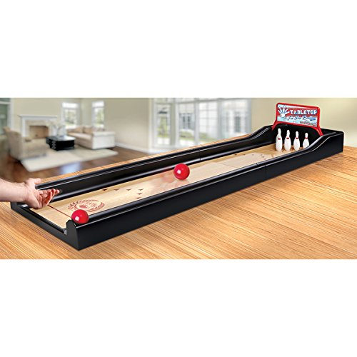 Black Series Exciting Game 10 Pin Jumbo Tabletop Bowling