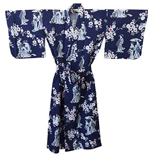 Cotton Japanese Kimono Robe ()