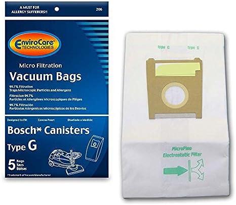 10 x BOSCH SIEMENS D E F G H Vacuum DUST BAG /& FILTER