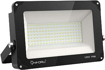 Onforu 120W Foco LED Exterior (1 Pack) 13000LM Super Potente ...