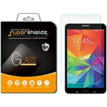 [2-Pack] Supershieldz for Samsung Galaxy Tab 4 8.0 8 inch Screen Protector, [Tempered Glass] Anti-Scratch, Anti-Fingerprint, Bubble Free, Lifetime Replacement Warranty