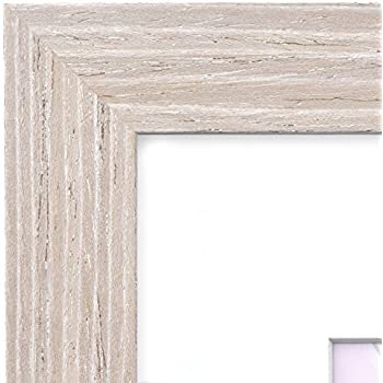 Amazon.com - 12x16 Picture Frame Barnwood Natural Oak - Matted for ...