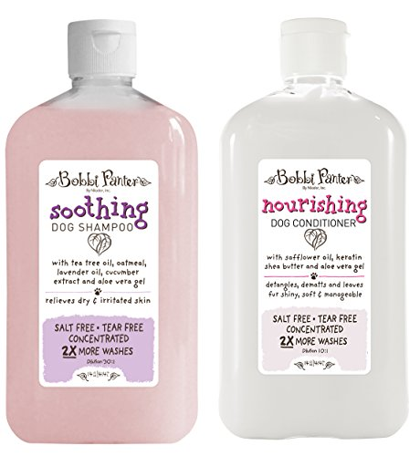 Bobbi Panter Natural Soothing Dog Shampoo and Nourishing Conditioner