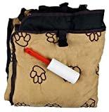 Cheap Guardian Gear GG Pawprint Hammock Car Seat Cover Tan and Black with Pet Hair adhesive lint Roller (set) Tan