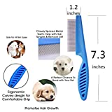 Set of 3 Tear Stain Remover Combs Dogs,Cat Comb