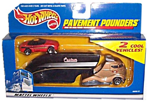 Pavement Pounder (Hot Wheels - Mattel Wheels - Pavement Pounders - Tractor/Trailer Rig w/