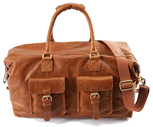 "Rawlings Rugged 19"" Duffle, Cognac"