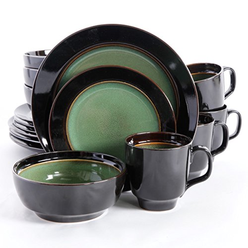 Gibson Bella Galleria 16 Piece Dinnerware Set, (Gibson China Dinnerware)
