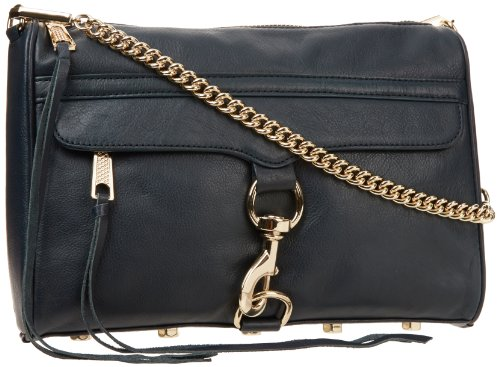 Rebecca Minkoff Mac H045I001 Clutch,Midnight,One Size, Bags Central