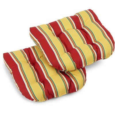 picture of Patio Chair Cushion Color: Haliwell Multi