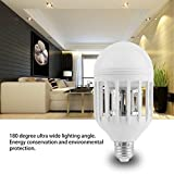 EnjoCho Mosquito Killer Anti Mosquito Led Lighting 15W 220V Standard Birdcage Shape Light Bulb one Size A