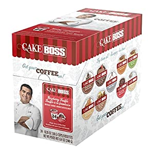 Cake Boss Coffee, Raspberry Truffle, 8.4 oz, 24 Count
