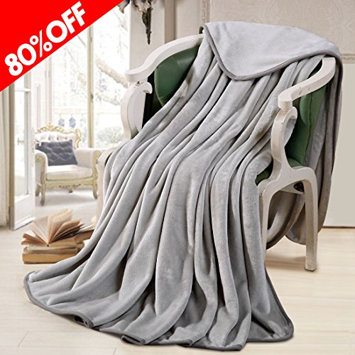 Machine Washable Queen Blanket 330 GSM Soft Warm Throw