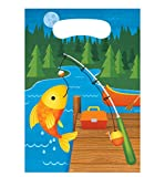 24 Camping/Fishing Favor Bags for Parties, Events, and Scout Activities