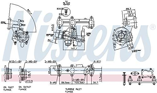 Nissens 93095 Turbo Charger: