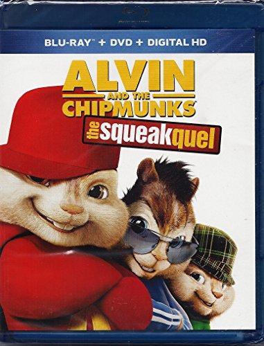 Alvin and the Chipmunks: The Squeakquel Bluray + DVD + HD Digital Copy