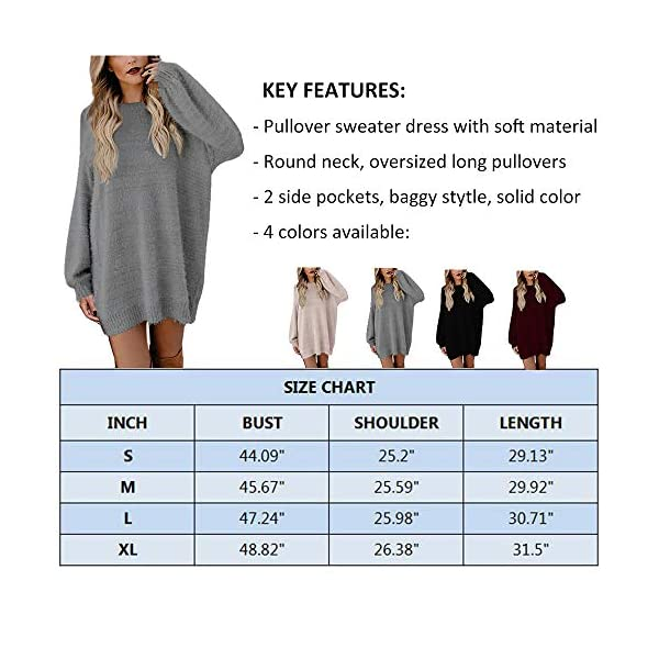 Slouchy Camel Pullover Long Dress