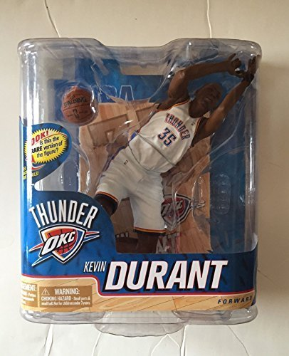 a947b2d044f5 Image Unavailable. Image not available for. Color  McFarlane Toys NBA Series  20 Kevin Durant 2 Silver Collector Level Figure