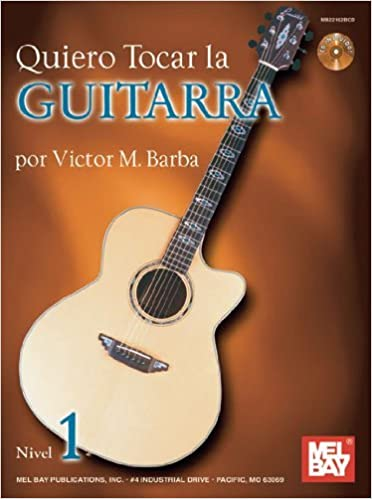 Quiero Tocar La Guitarra Book/CD Set Spanish Edition by Victor ...