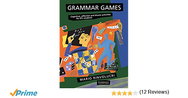 Amazon.com: Grammar Games: Cognitive, Affective and Drama ...