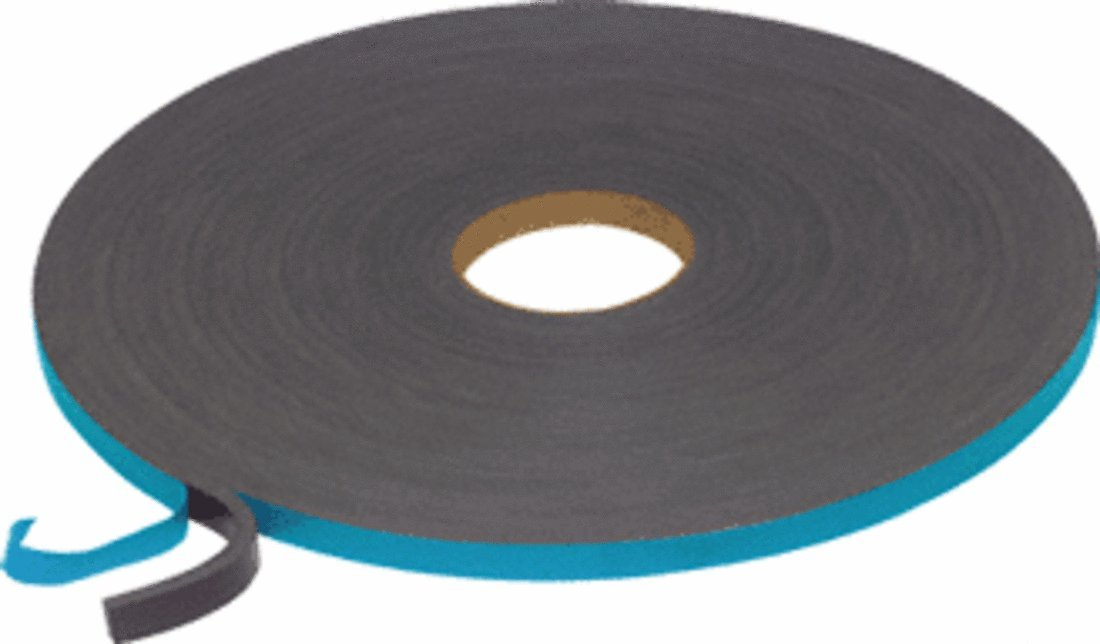 Norton V210638 3/16 x 3/8'' V2100 Thermalbond Structural Glazing Spacer Tape by CR Laurence