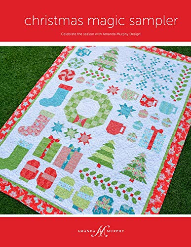 Christmas Magic Sampler Quilt Pattern, 74