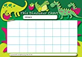 Sticker Solutions A4 Dinosaur Reward Chart with 25 Stickers