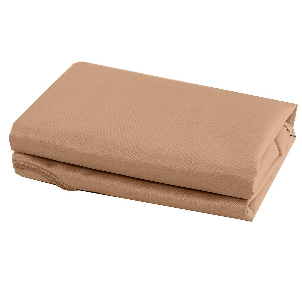 Beige Baoblaze Housse de Drap de Lit pour Table de Massage Housse avec Trou pour Divan de Massage 190x80cm