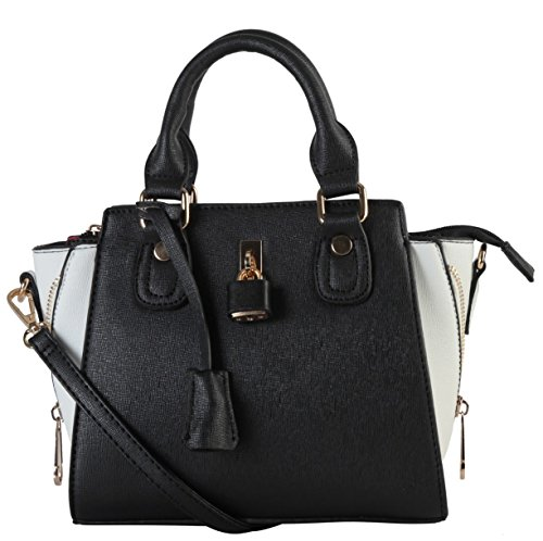 diophy-saffiano-pu-leather-side-zip-small-satchel-top-handle-crossbody-womens-handbag-purse-sz-3208-