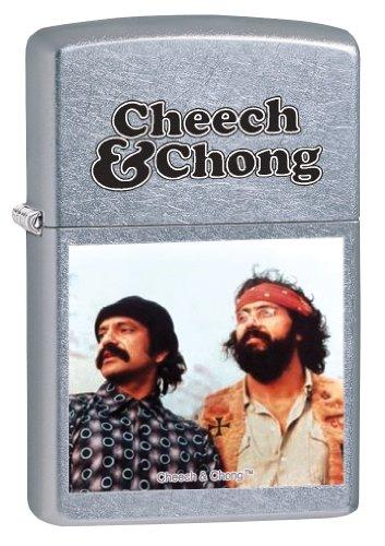 Zippo Stamp Street (Zippo Cheech and Chong Pocket Lighter)