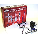 BSD RC Buggy Nitro Starter Kit Glow Starter Charger 350cc Bottle 2100mah