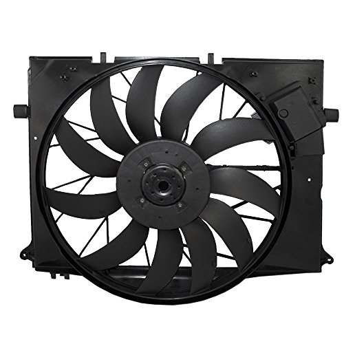 Radiator Cooling Fan Assembly Replacement for Mercedes-Benz CL-Class S-Class SL-Class -